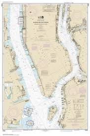 New York Harbor Nautical Chart 12335 Hudson And East Rivers Governors Island To 67th Street Nautical Chart