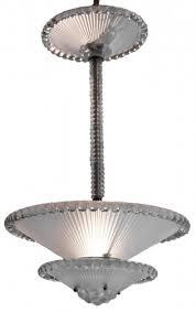 rene lalique chandelier perles