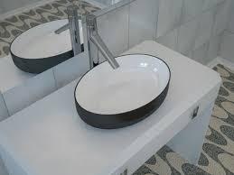 black vessel sink. Modren Black In Black Vessel Sink E
