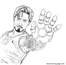 Small Picture Tony Stark coloring page for boysaed6 Coloring pages Printable