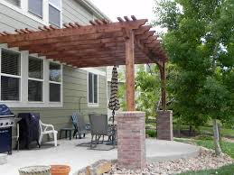 How To Build A Pergola Over A Brick Patio