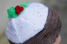 Check out our holly leaf pattern selection for the very best in unique or custom, handmade pieces from our shops. Christmas Pudding Hat Knitting Pattern Gathered