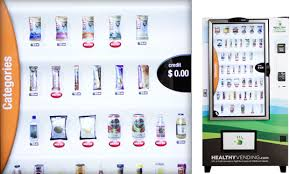 Vending Machine Products List Interesting HUMAN Healthy Vending Machines Buy Organic Vending Machines