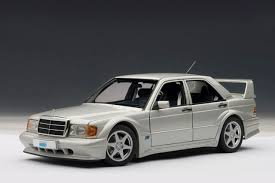 Collector owned in japan for. Mercedes 190e 2 5 16v Evolution 2 Astral Silver 1 18 By Autoart 76133 For Sale Online Ebay