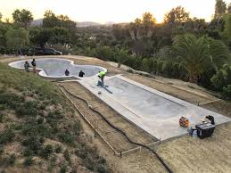 it used to be the dream of every skateboarder to have a wooden mini ramp in their backyard rob dyrdek s house used to have just two wooden quarterpipes