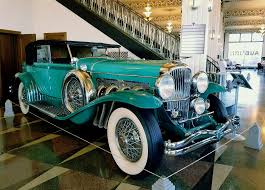some of my favorite highlights are the duesenbergs which were each custom built to it s original owner s specifications the duesenberg brothers were