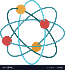 atomdesign isolated atom design royalty free vector image