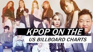Billboard Movie Charts Kpop On The Us Billboard Charts