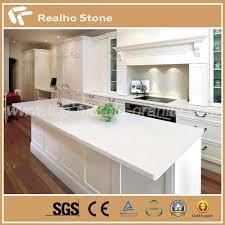 engineered pure white quartz countertops