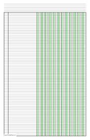 ledger paper templates ledger paper