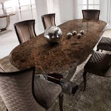 luxury dining room sets marble. unique luxury luxury italian brown marble dining set to room sets