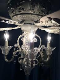 chandelier ceiling fan light amazing ceiling fan chandelier light kit lamps plus 4 light rubbed white chandelier ceiling fan light