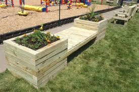 9 diy planter benches for your outdoor spaces shelterness diy large planter wooden bench via s