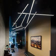 linear suspended lighting. Cirrus Channel Suspension D1 Linear Suspended Lighting N