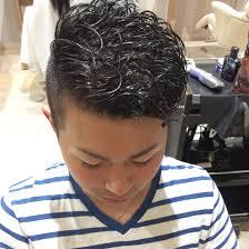 メンズカットパーマ刈り上げ短髪lucy所属山本将史のヘアカタログ