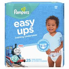 Get Quotations · Pampers Easy Ups Pull On Disposable Training Diaper for Boys, Size 4 (2T- Cheap Sale, find Sale deals on line at