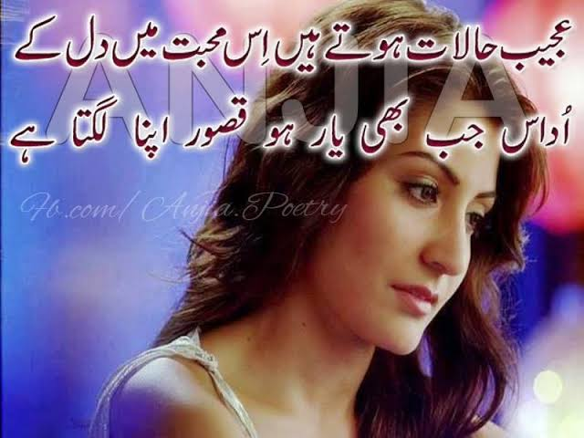 romantic shayari for lover in urdu