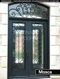 iron glass doors double door wrought iron glass door inserts toronto