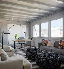 gallery spelndid office room. Splendid Blue Pouf Ottoman Decorating Ideas Gallery In Home Office Transitional Design Spelndid Room S