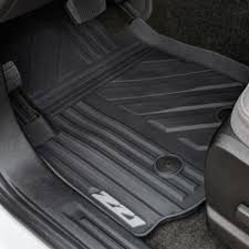 2016 colorado floor mats front premium all weather z71 logo black
