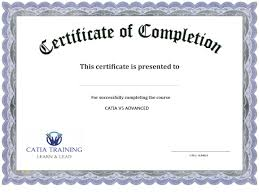Certificate Outline Training Certificate Template Powerpoint
