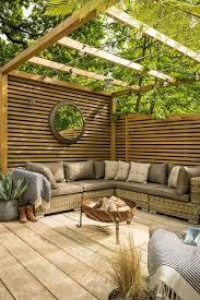 corner garden room designs