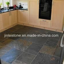 stone floor tiles kitchen. Simple Floor Black Slate Floor Tile For Kitchen Or Bathroom In Stone Tiles O