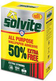 Solvite All Purpose Wallpaper Adhesive ...