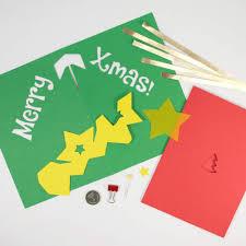 Diy Light Up Greeting Card Amazon Com Diy Light Up Pop Up Card Kit Xmas Tree Arts