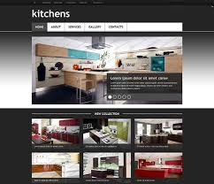 Kitchen Website Design Interior Unique Inspiration