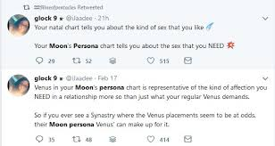 Moon Persona Charts And Love Lipstick Alley