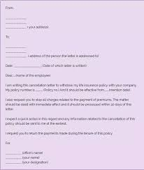 Letter To Discontinue Services How To Write A Letter To Cancel An Insurance Policy Quora