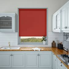 Red Roller Blinds Kitchen How To Choose Blinds For Your Kitchen Make My Blinds