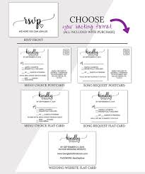 response cards template wedding rsvp cards template rustic printable wedding rsvp postcard
