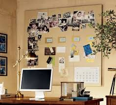 office board ideas. Formal Wooden Desk Ideas For Cute Home Office With Large Bulletin Board Design