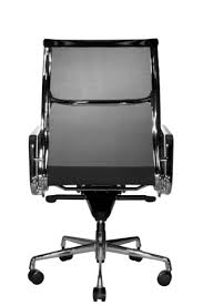 Image Office Furniture Wobi Office Black Eames Mesh Management Replica High Back Chair Back Wobi Office Reed Mesh Ergonomic Highback Office Chair Black From Wobi Office