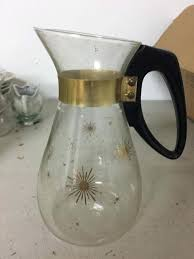 glass coffee carafe corning coffee carafe starburst sun burst atomic design 6 cup vintage ninja coffee glass coffee carafe