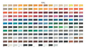 Ral Powder Coat Color Chart Details About 1kg Powder Coating Powder In Various Ral Colours Finishes
