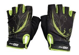 <b>Перчатки для фитнеса OneRun</b> цвет салатовый, черный, размер S
