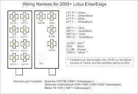 Alpine Radio Diagram alpine head unit wiring harness diagram stereo install wire focal