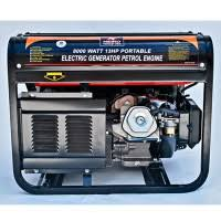 first electric generator. 13 HP 8000 Watt Portable Generator First Electric S