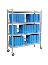 Chart Racks For Medical Records Medical Chart Carts With Vertical Racks Mini