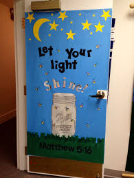 Be The Light Bulletin Board Lightning Bugs Let Your Light Shine Before Men Matthew 5