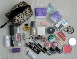 makeup bag essentials 2016 other essentials make