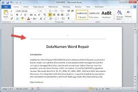 Ms Word Header 2 Ways To Remove The Horizontal Lines In The Header Or