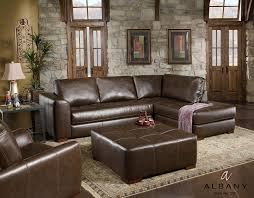 stunning leather sectional with chaise lounge brown leather sectional with