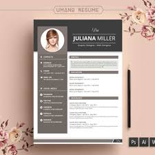 Fantastic Free Modern Resume Templates Cv Template Doc Docx Download