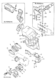 1989 yamaha ovation deluxe electric start cs340en air cleaner rh bikebandit polaris snowmobile wiring diagrams