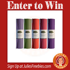 here is an offer where you can enter to win a jade yoga mat from intouch