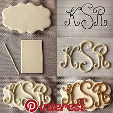 How To Make Letters For Gumpaste And Fondant Monograms Cake